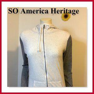 So America Heritage Women Hooded Jacket Size M